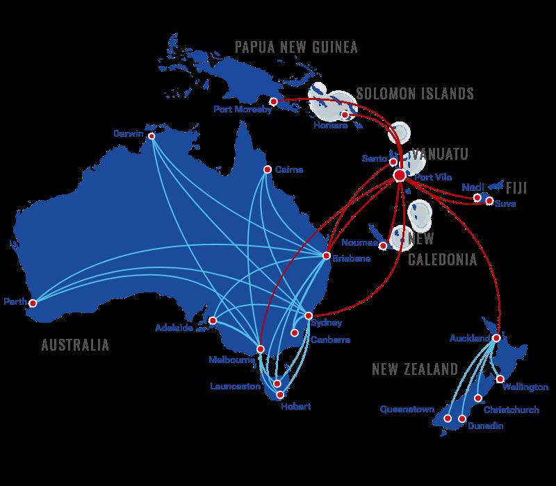 Vanuatu Flights & Holidays | Book Online | Air Vanuatu