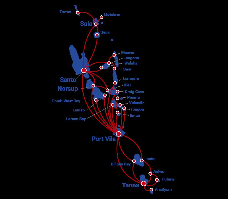 Vanuatu Flights & Holidays   Book Online   Air Vanuatu